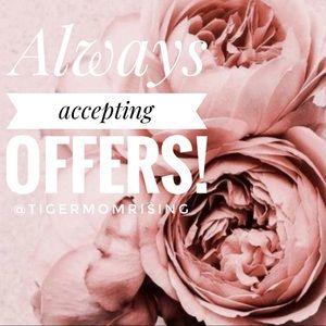 Like an item? Send an offer!